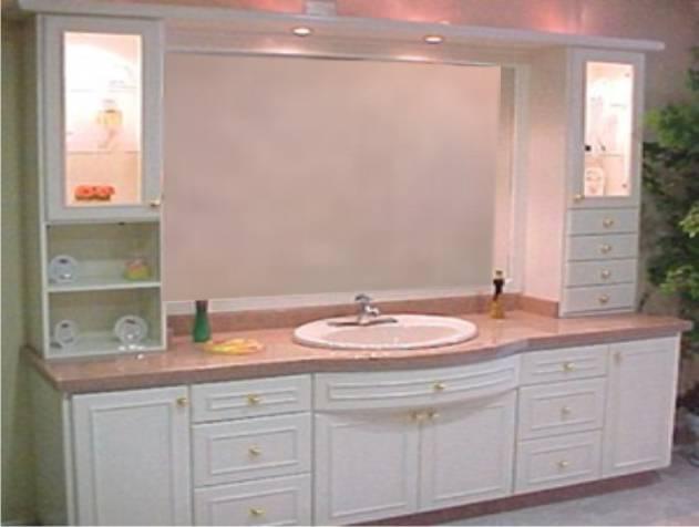 cool mueble bao clsico en blanco with muebles de bao clasicos - Muebles De Bao Clasicos