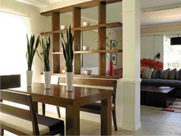 Division sala comedor decoracion for Divisiones para sala y cocina